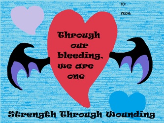 Through Our Bleeding We Are One by Ibitz