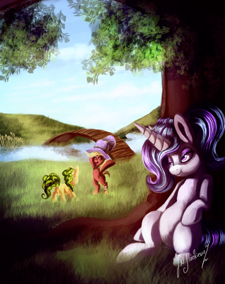 Performing for Sick Foals by Shivannie
