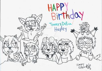 Happy Birthday TannerxDelia! by CelmationPrince