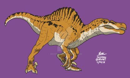 Spinoraptor (JW Evolution : Secrets of Dr.Wu) by Michiragi