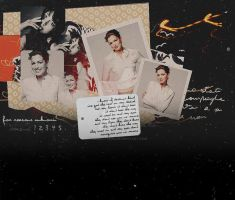 Anne Hathaway Layout by demolitionn