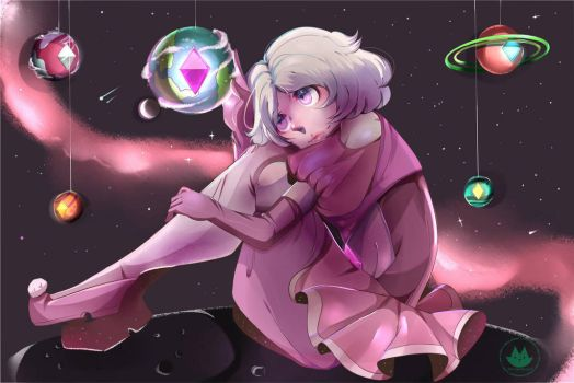 (Fanart) My own planet by Dat-Gijinka-Gurl