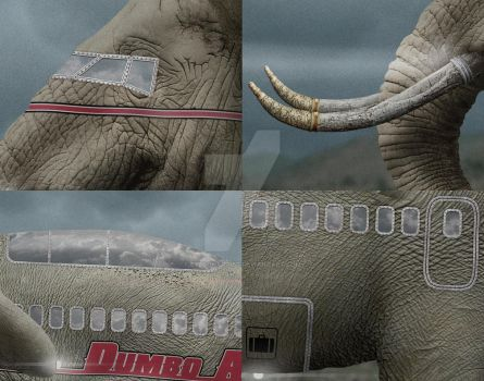 Dumbo Air Details by eyeconartist