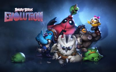 Angry Birds Evolution - Loading Screen by Der-Reiko