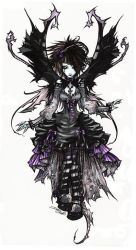 goth_fairy. by rotten-and-diseased