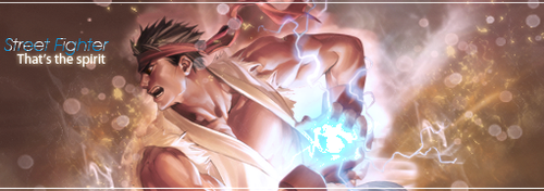 GFX : Ryu, Street Fighter by Aurawesome
