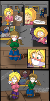 COM: Captured Cuties Comic by Daisy-Pink71