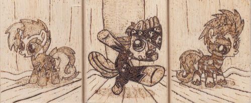 Show Stopper Crusaders Pyrography by Malte279