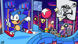 Sonic Mania! by SuperLooneyDude