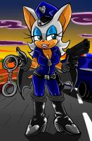 Bad Cop Rouge the bat by gizmo01