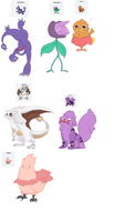 Day#9: Pokemon fusions by TotemHead
