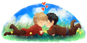 Fluffy Merthur by staypee