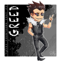 [Chibi Countdown - Day 2] Greed by RiikoChick