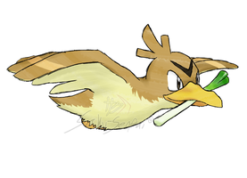 Draw'em All Challenge: 083 Farfetch'd