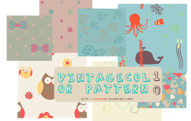 Vintage pattern by Giovyn86