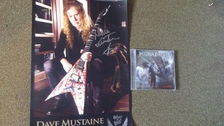 My signed stuff by FanaticTVzombie