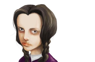 wednesday addams by wasted-hopeless