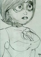 Mrs. Incredible by ironspider