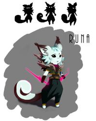 Runa Character Concept Design by Weelow