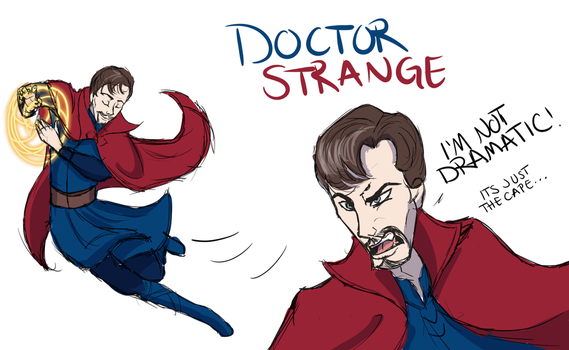 Doctor Strange Derp by x-RainFlame-x