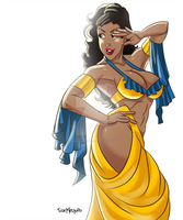 [c] Donni Belly Dancer by roemesquita