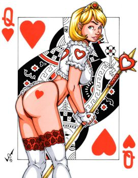 Queen of Hearts by gb2k