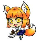 Chibi Fox Girl by DreamySheepStudios