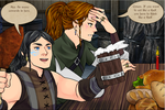 Conan And Jezmine Steal The Black Ring by JessieRamoneGirl
