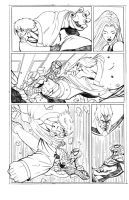 Spiderman Vs Mr Hyde page 5 by blaquejag
