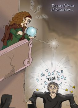 Trelawney's greatest moment by Lucy--C