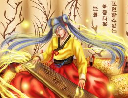 Gayageum Sona (League of Legends) by Anspire
