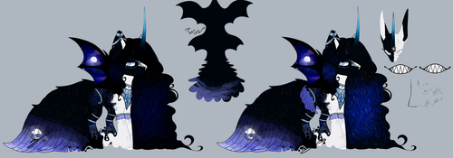 REDO - LUNA X PONY OF SHADOW [AUCTION OPEN] by Vhilinyar