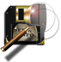 Steampunk Read from Disc (open) Icon by yereverluvinuncleber