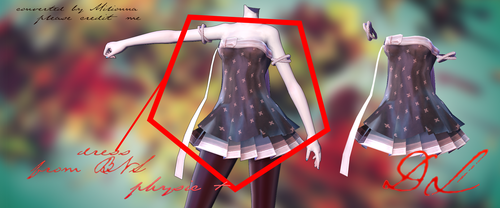 MMD BLADE AND SOUL -DRESS#2- [DOWNLOAD][DL] by Milionna