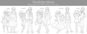 Wardrobe Meme by paper-hero