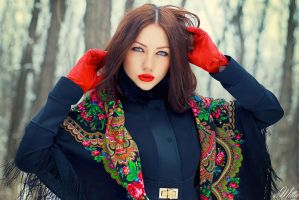 Russian winter by cocainacola