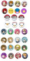 Buttons :: Pokemon by khiro