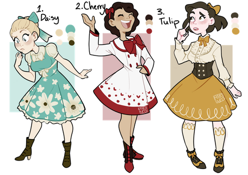 [SET PRICED] Primary Fashion Adopts (1/3 OPEN) by Mars-Arts