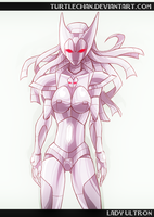 Lady Ultron by turtlechan by singory