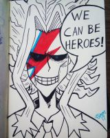Bowie no Hero by TaoCesar