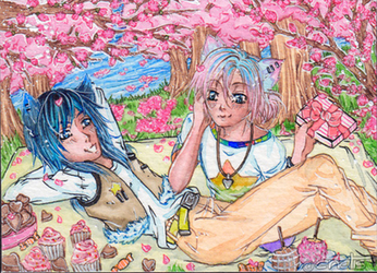 Valentine's Day ACEO 115 by Enatis