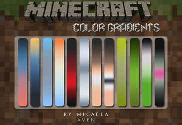 Minecolors Gradient by alma-mora