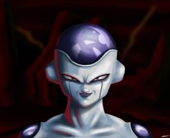 Frieza by Pencil-X-Paper
