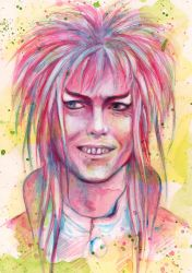 David Bowie - Labyrinth by mayan-art