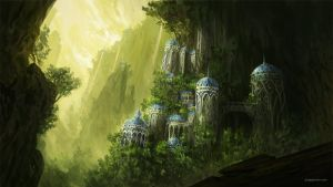 Forgotten Kingdom II by JJcanvas