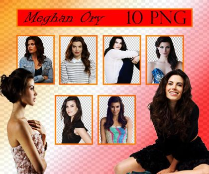 Meghan Ory PNG Pack by sarii016