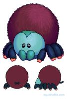 Squishable Pinktoe Tarantula by RacieB