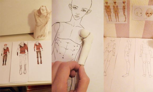 BJD working process by DynamiteGold