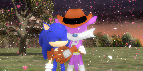 lovesonicfang 7 11 sonic x fang cherish by lovesonicfang - Sonic Christmas Hours