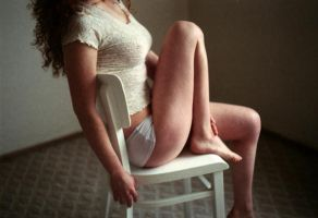 on the chair. by BlackDennie